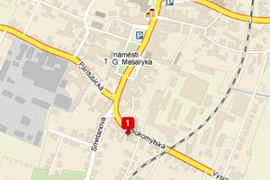 Aquatica KOI Centrum - mapa
